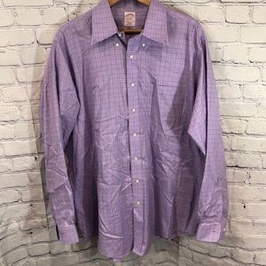 Brooks Brothers Long Sleeve Button-Down 17 1/2